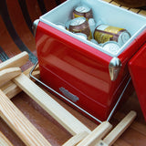ice box cooler mollyjogger vintage red stanley