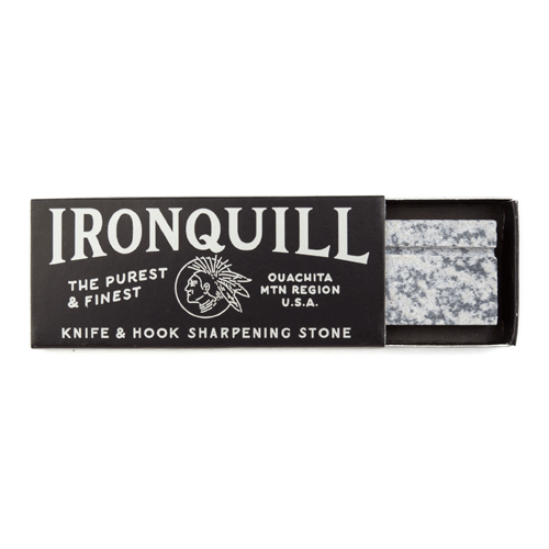 ironquill stone hook knife pocket hone