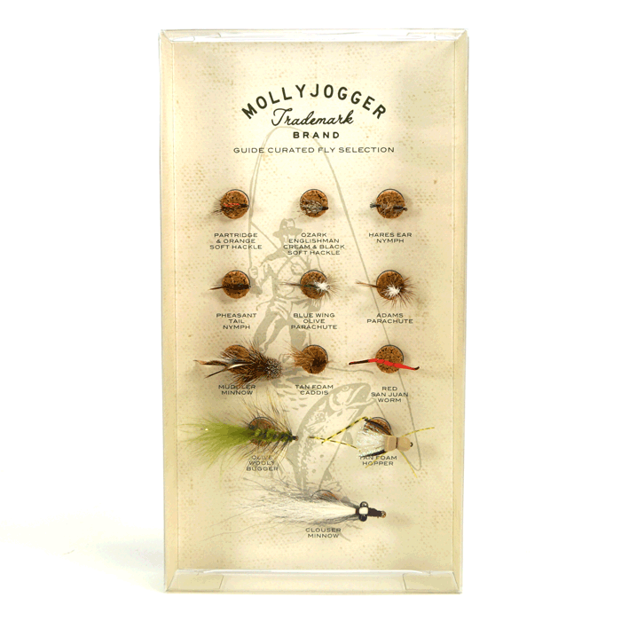 Mollyjogger Guide Selected Fly Fishing Pattern Set