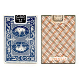 american frontier deck playing cards vintage plaid mollyjogger
