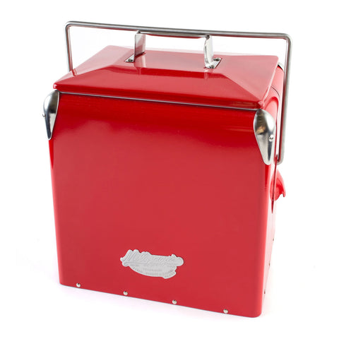 ice box cooler mollyjogger vintage red