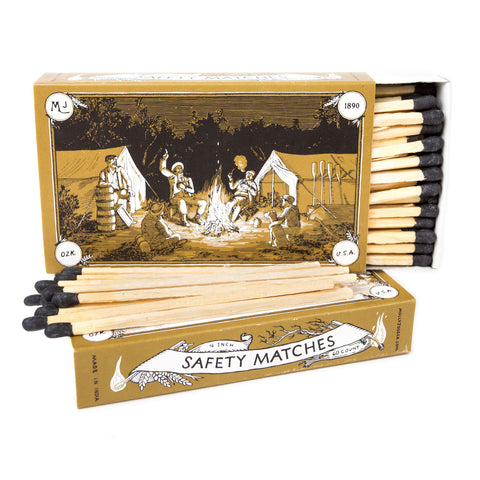 "Safety Matches Mollyjogger HVRNT 4"" Illustrated Camp"