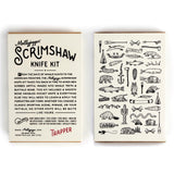 scrimshaw knife kit mollyjogger trapper diy