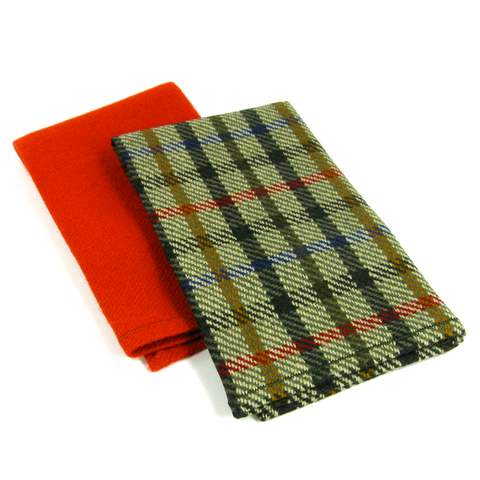 Wool Pocket Square Set