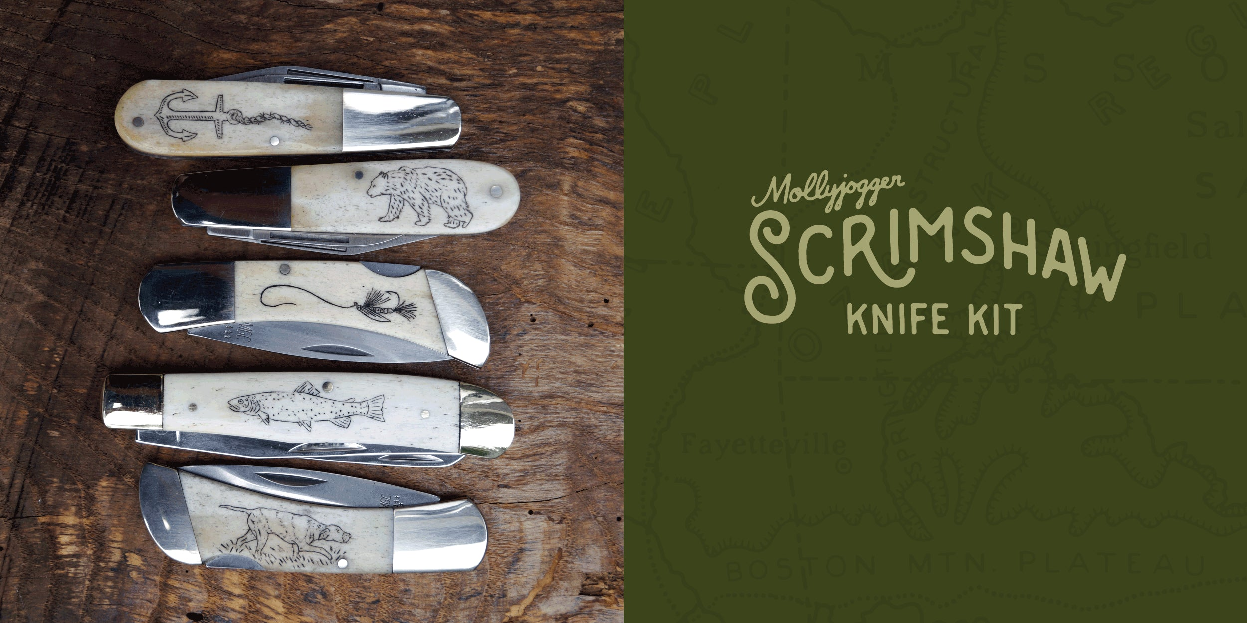 Shop for Skrimshaw knife kits