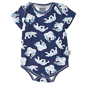 POLAR BEAR Short Sleeve Bodysuit