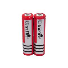Ultrafire Lithium Ion Batteries 18650 (1 Pair)