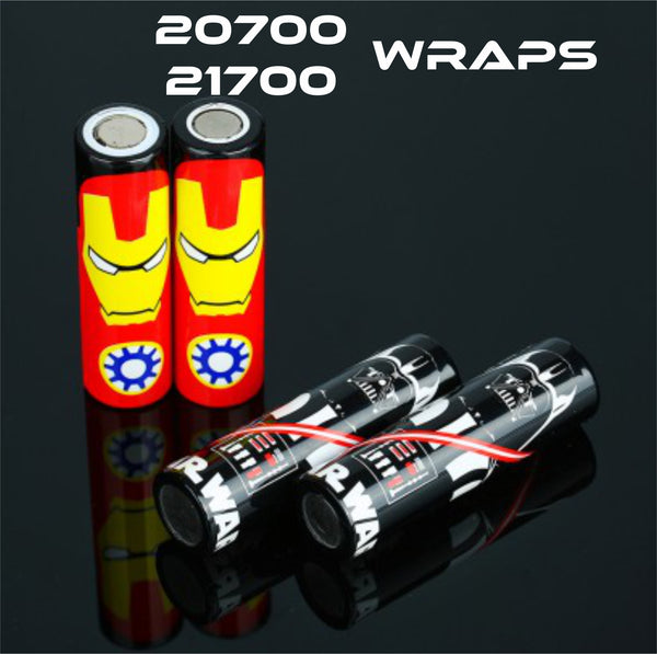 20700/21700 Battery Wrap/Skins/Sleeve - Fogging Amazing Vape Shop South Africa