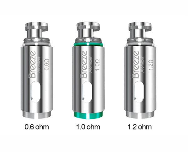 Breeze 1 & 2 Coils - Single - Aspire - Fogging Amazing Vape Shop South Africa