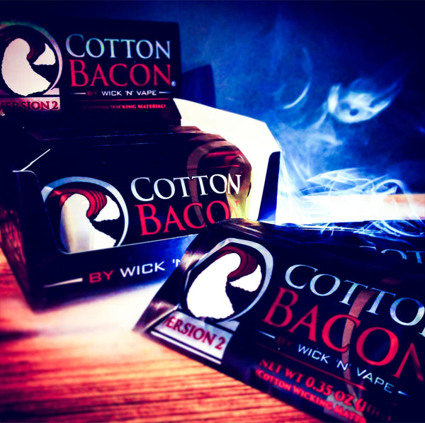 Cotton Bacon Version 2 - Fogging Amazing Vape Shop South Africa