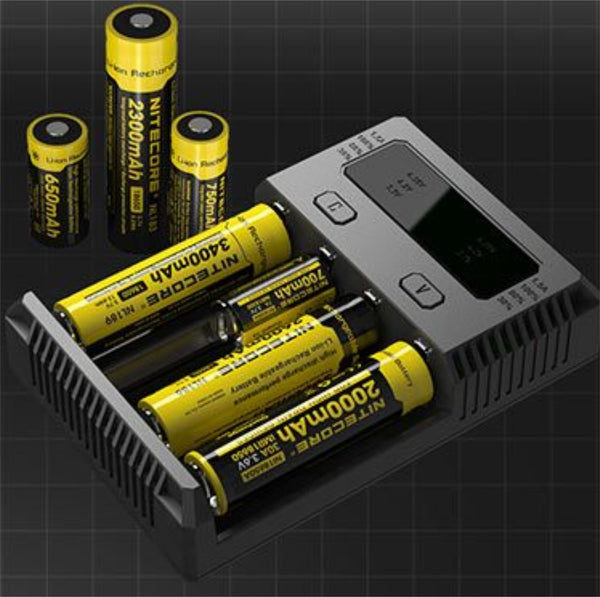 Nitecore I4 Intellicharger - Fogging Amazing