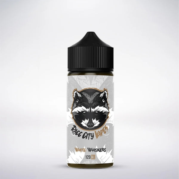 White Whiskers - Racc City Vapes - 120ml