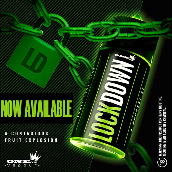 Lockdown - ONEoz Vapour & TKO - 100ml