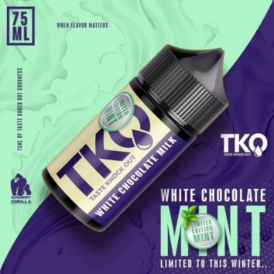 White Chocolate Milk Mint - Limited Edition - TKO - 75ml/120ml
