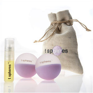 Tranquility Spheres - Lavender - Small