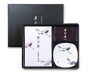 Yume-No-Yume Whooping Crane Japanese Incense Gift Set
