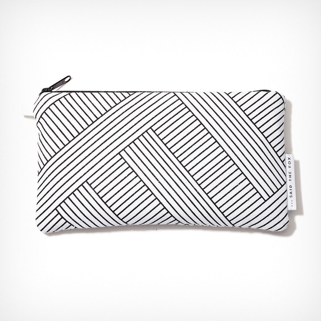 "Pouch ""Lines & Stripes No. 1"" Said the Fox – diesellerie.com"
