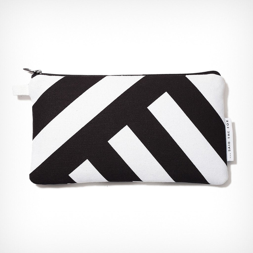 "Pouch ""Lines & Stripes No. 3"" Said the Fox – diesellerie.com"