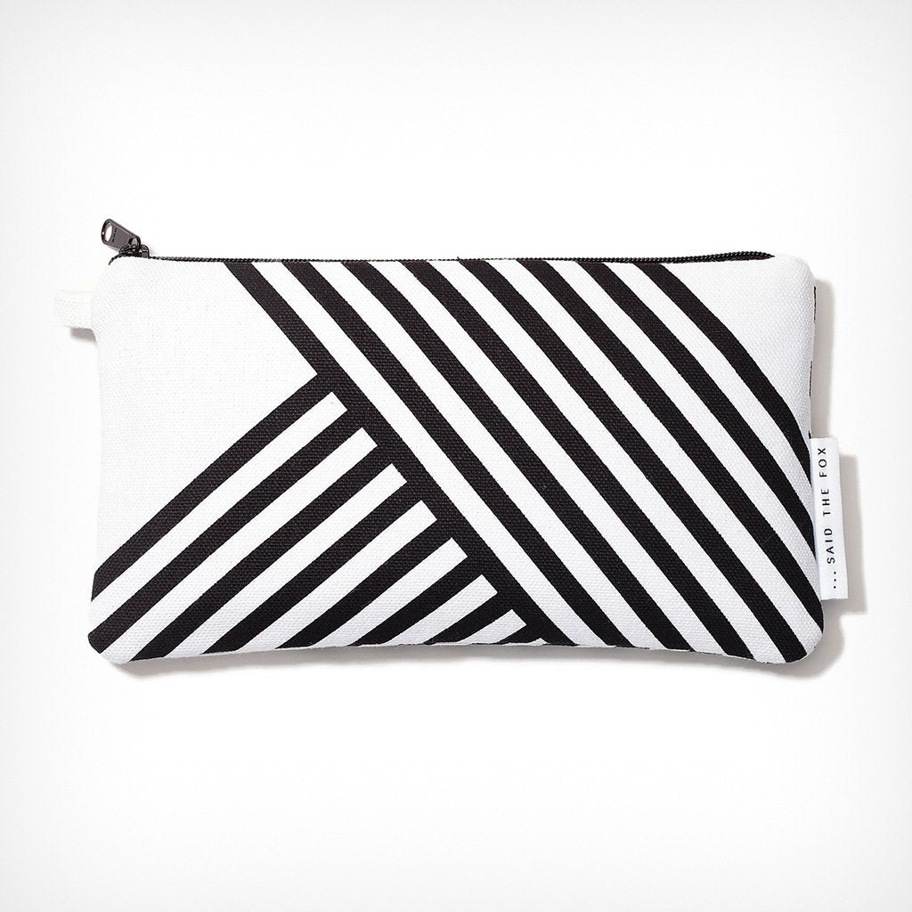 "Pouch ""Lines & Stripes No. 2"" Said the Fox – diesellerie.com"
