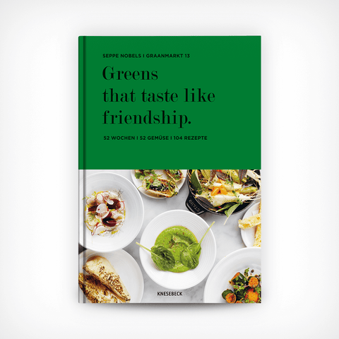 """Greens that taste like friendship"" Seppe Nobels – diesellerie.com"