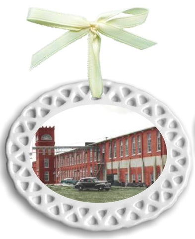 2017 Commemorative Canton Cotton Mills Ornament