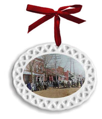 2018 Commemorative Woodstock Main Street Ornament