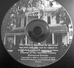 Life in Early 20th Century Hickory Flat - DVD Video