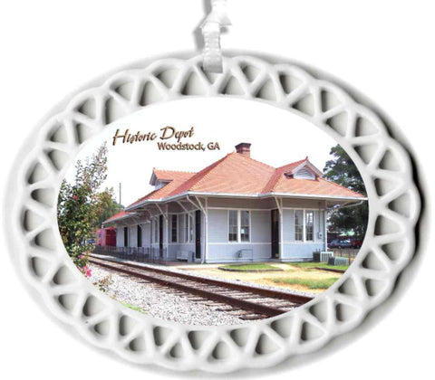 Woodstock Depot Commemorative Ornament