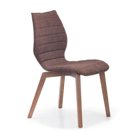 Zuo - Aalborg Chair Tobacco Fabric