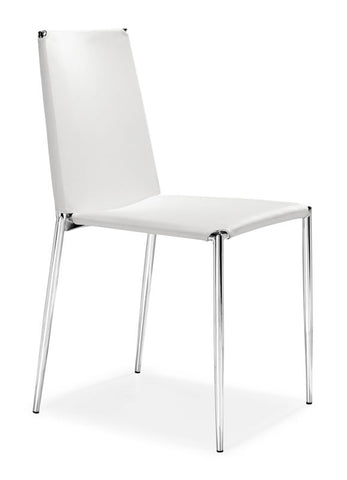 Zuo - Alex Dining Chair White