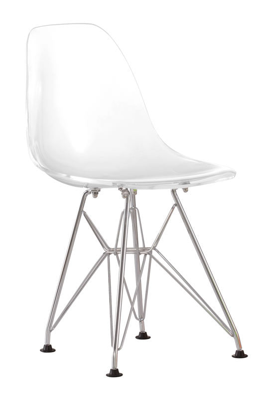 Zuo - Baby Spire Chair Transparent