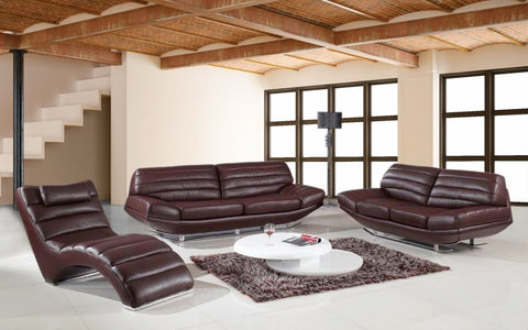 BexMod Furniture - Migliore Divano Boco Modern Leather Sofa Set