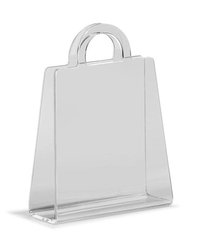 Zuo - Purse Magazine Rack Transparent