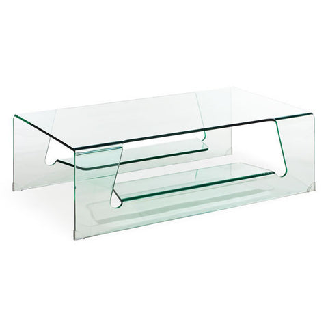 Zuo - Airing Coffee Table Clear Glass