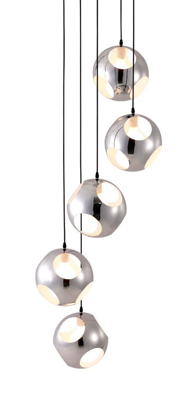 Zuo - Meteor Shower Ceiling Lamp Chrome