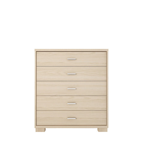 Manhattan Comfort - Astor 5- Drawer Modern Dresser in Oak Vanilla