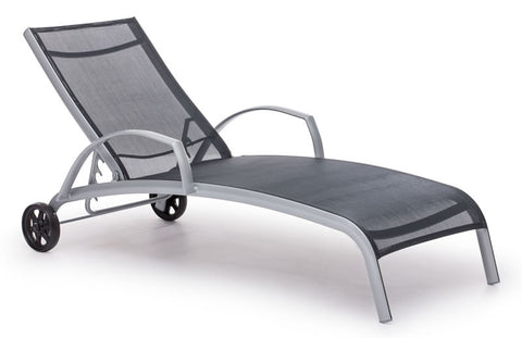 Zuo - Casam Lounge Black & Silver