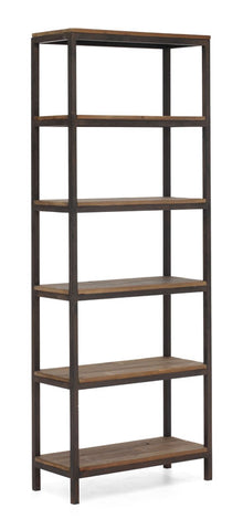 Zuo - Mission Bay Tall 6 Level Shelf Distressed Natural