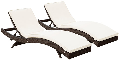 Modway - Peer Chaise Lounge Set of Two