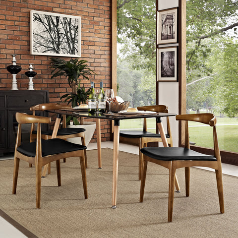 Modway - Tracy Dining Set of 4