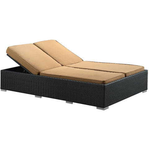 Modway - Evince Chaise in Espresso Mocha