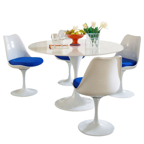 Modway - Lippa 5 Piece Dining Set in Blue