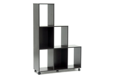 Baxton - Hexham Rolling Display Shelving Unit