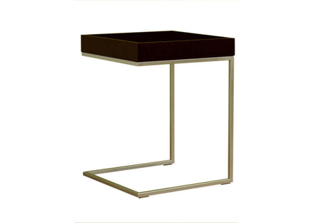 Baxton - Black Wood Top C Table
