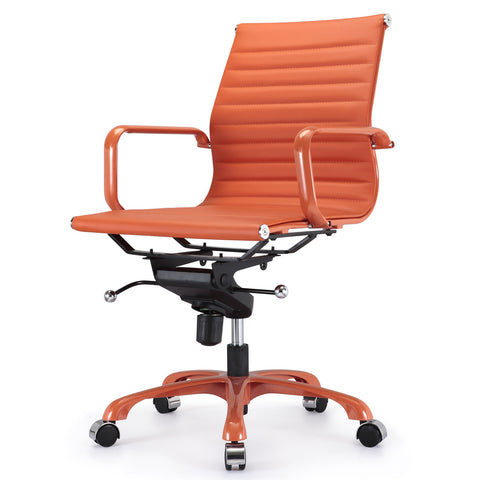 Jossio - Due Office Chair in All Orange Everything