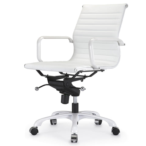 Jossio - Due Office Chair in All White Everything