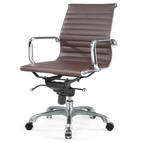 Jossio - Due Office Chair in Dark Brown