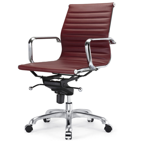 Jossio - Due Office Chair in Bordeau