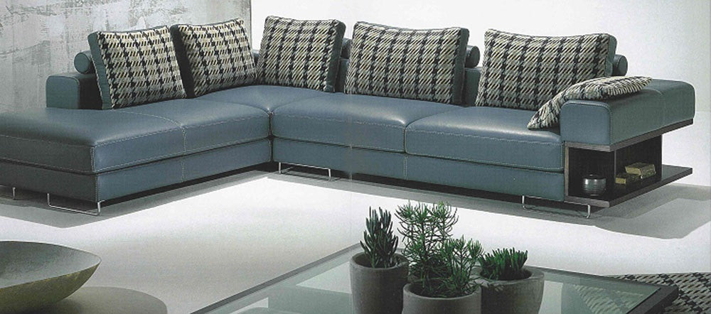 BexMod Furniture - Migliore Divano Cadby Leather Sectional Sofa