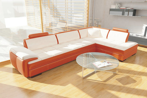 BexMod Furniture - Migliore Divano Calina Leather Sectional Sofa